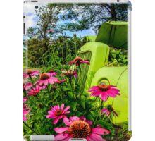 Green Metal Pasture iPad Case/Skin