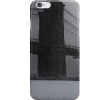 Brooklyn Bridge Blizzard iPhone Case/Skin