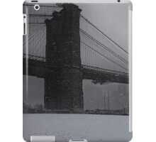 Brooklyn Bridge Blizzard iPad Case/Skin