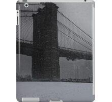 Brooklyn Bridge Blizzard iPad Case/Skin