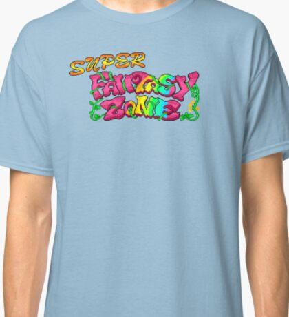 Super Fantasy Zone (Genesis Title Screen) Classic T-Shirt
