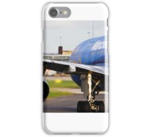 EtihadA330 (MCFC Livery) at Manchester Airport iPhone Case/Skin