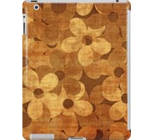 Grunge floral card iPad Case/Skin