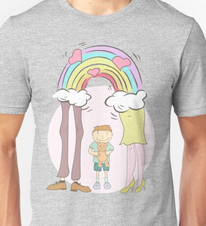 Family my world, my rainbow Unisex T-Shirt