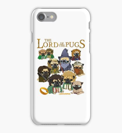 THE LORD OF THE PUGS iPhone Case/Skin