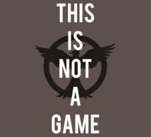 THIS IS NOT A GAME - The Hunger Games by artxjeremy