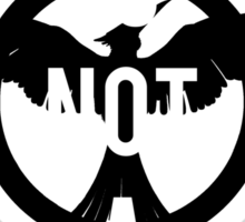 THIS IS NOT A GAME - The Hunger Games Sticker