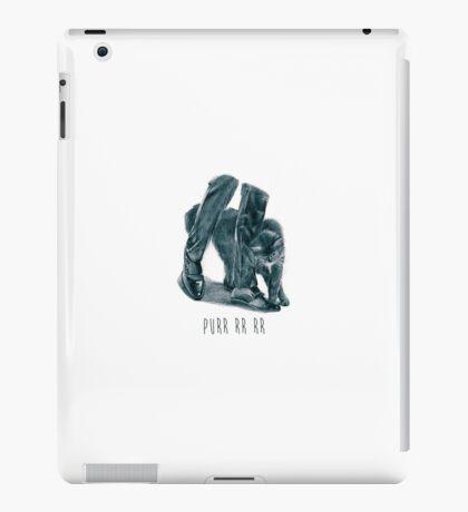 Purr rrr rrr Cat iPad Case/Skin