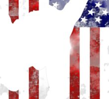 American Martial Arts 5 Tenates of Taekwondo Sticker