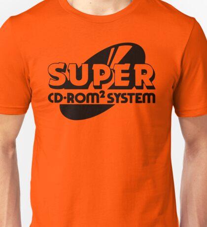 TurboGrafx-16 Super CD ROM2 Unisex T-Shirt