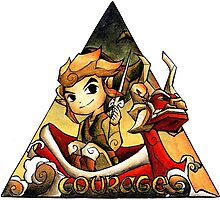 Courage Wind Waker Link Photographic Print