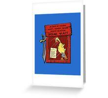 Pirate invasion kit Greeting Card