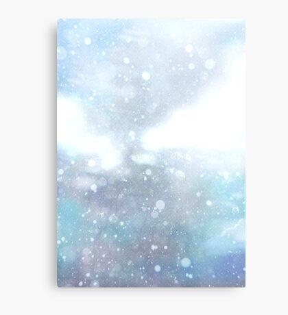 Purplish Snow Metal Print