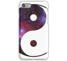 Ying and yang galaxy iPhone Case/Skin