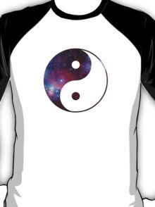 Ying and yang galaxy T-Shirt