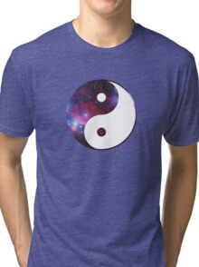 Ying and yang galaxy Tri-blend T-Shirt