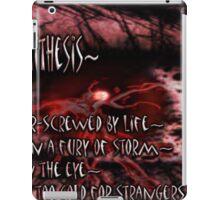 ~antithesis~ (snippet) iPad Case/Skin