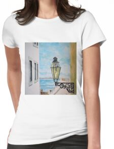 a view from Lisbon Womens Fitted T-Shirt