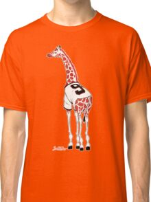 Belt Giraffe (Textless) Classic T-Shirt