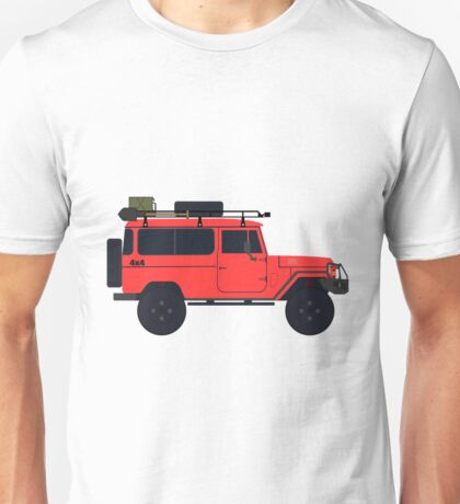 Toyota Bandeirante (Brazilian Built Land Cruiser) Unisex T-Shirt
