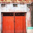 Corrugated Orange by phil decocco