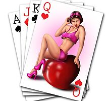 Poker pinup by yajyolid