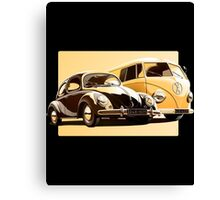 One Spirit   Car   Bus  Only  Canvas Print