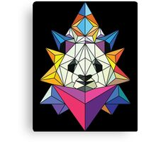 Polygonal Panda Canvas Print