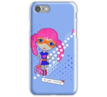 Bravely, She Took On The World iPhone Case/Skin