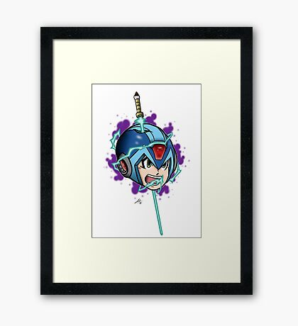 Headrush Framed Print