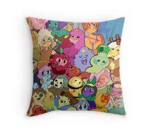 it's princess time! Throw Pillow