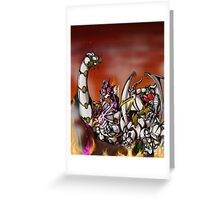 Untameable Greeting Card