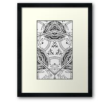 """Artificial Synthetic - """"The Beginning"""" Framed Print"""