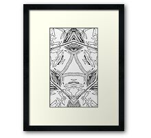 """Artificial Synthetic - """"The Middle"""" Framed Print"""