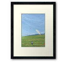 DoA : Feather View Framed Print
