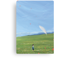 DoA : Feather View Canvas Print