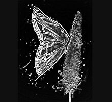 Black and White Butterfly Unisex T-Shirt
