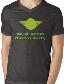 Star Wars - Yoda Mens V-Neck T-Shirt