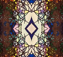 """Colored Scribbles - """"Stained Glass Window"""" by MidniteBlue2565"""