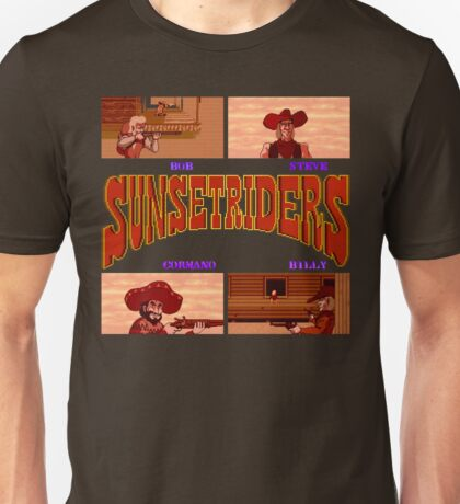 Sunset Riders (SNES) Unisex T-Shirt