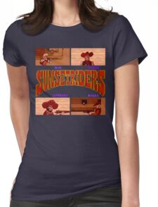 Sunset Riders (SNES) Womens Fitted T-Shirt