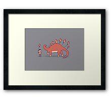 Stego-Soar Framed Print