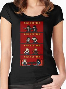 Mega Pulp Fiction Women's Fitted Scoop T-Shirt