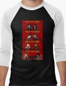 Mega Pulp Fiction Men's Baseball ¾ T-Shirt
