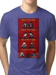 Mega Pulp Fiction Tri-blend T-Shirt