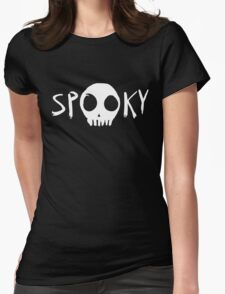 Spooky Scary Womens Fitted T-Shirt