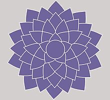 Sahasrara - The Crown Chakra by annekulinski