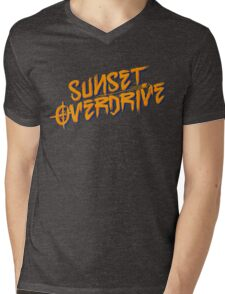 Sunset Overdrive Mens V-Neck T-Shirt