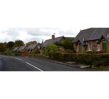 A Walk Around Hazelbank .. Craigs Road Cottages Photographic Print