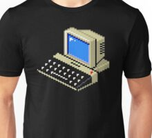 8bit old PC Unisex T-Shirt